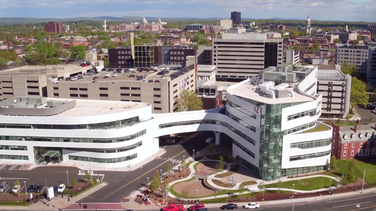Hartford Hospital Metalwerks Aluminum PlateECO Cladding Vci10 Subframing