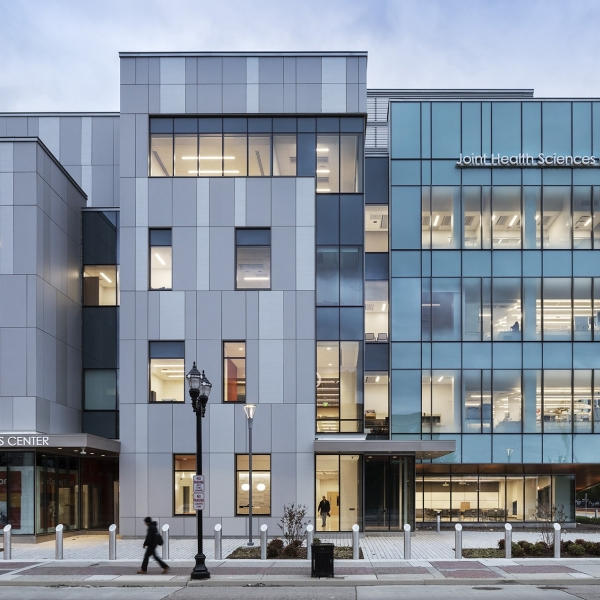 ECO Cladding Vci.40 Concealed Subframing Fiber Cement Joint Health Science Center