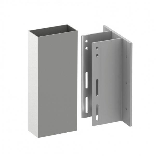 Alpha E Wall Bracket for spanning from floor slab to floor slab applications.