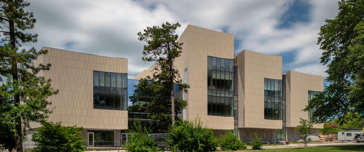 Eco Cladding Fiber Cement System used on Center for Missouri Studies / Columbia, MO - Gould, Evans
