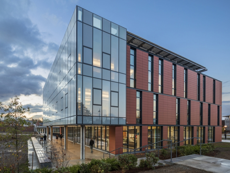 Anonymous Hall ECO Cladding Subframing Systems for Terracotta Cladding