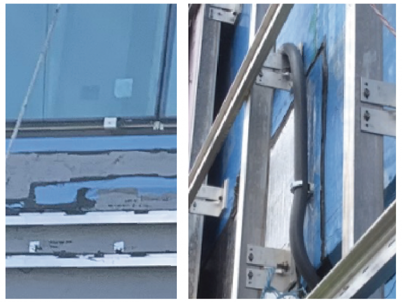 Wall Brackets provide greater installation efficiency as compared to Z girts